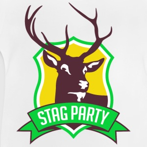 Stag Party 3 (dd)++ Camisetas niños - Camiseta bebé