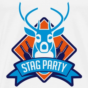 Stag Party 1 (3c)++ Tröjor - Premium-T-shirt herr
