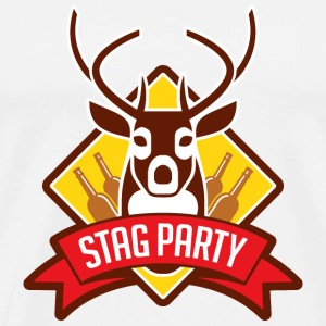 Stag Party 1 (dd)++ Sacs - T-shirt Premium Homme