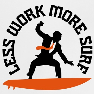 Less Work More Surf 2 (2c)++ Børne T-shirts - Baby T-shirt