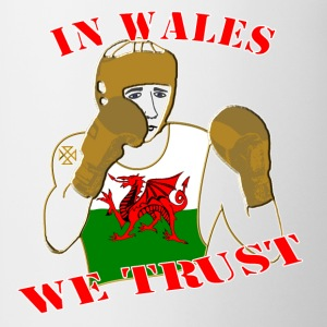 National Boxing in Wales we trust classic tee shirt - Mug