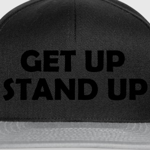 Get up Stand Up ! T-Shirts - Snapback Cap