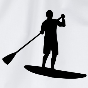 Sup, stående padling, surfing, surfing, Supen, Stand up paddle surfing T-skjorter - Gymbag