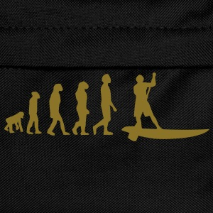 Evolution Sup, Sup, Stehpaddeln, Surfen, Wellenreiten, supen, Stand up  paddle surfing T-Shirts - Ryggsekk for barn