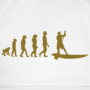 Evolution Sup, Sup, standing paddling, surfing, surfing Supen, Stand up paddle surfing T-shirts - Baseball Cap