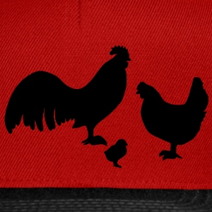 Poulet Tee shirts - Casquette snapback