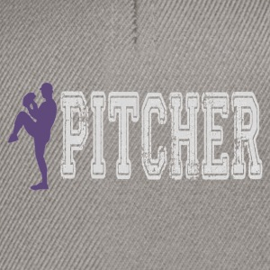 Pitcher.gif Tee shirts - Casquette snapback