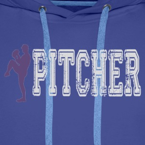Pitcher.gif Tee shirts - Sweat-shirt à capuche Premium pour hommes