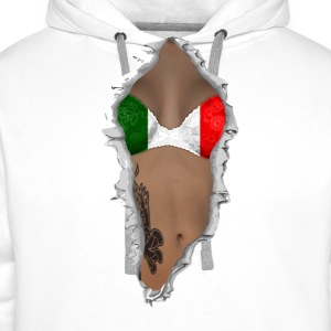 sexy flag italy T-Shirts - Men's Premium Hoodie