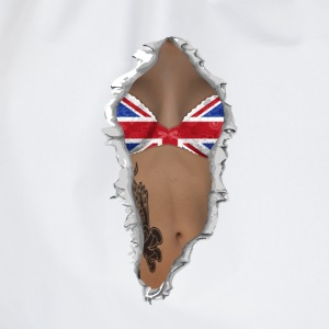 sexy flag UK T-shirts - Gymtas