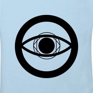 Crop circle - Eye of Horus for kids - T-shirt Bio Enfant