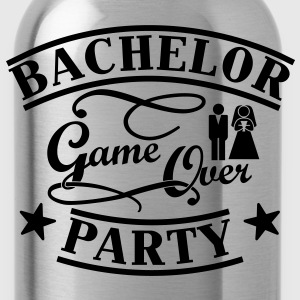 Bachelor Game Over Magliette - Borraccia