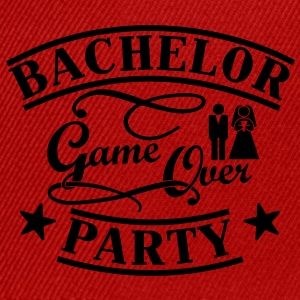 Bachelor Game Over Magliette - Snapback Cap