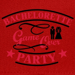 Bachelorette Game Over Camisetas - Gorra Snapback