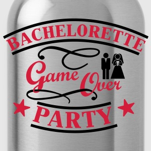 Bachelorette Game Over T-Shirts - Trinkflasche
