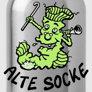 Alte Socke T-Shirts - Trinkflasche