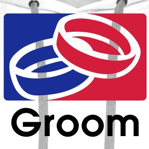 Groom 3C Team T-Shirt - Sweat-shirt à capuche Premium pour hommes