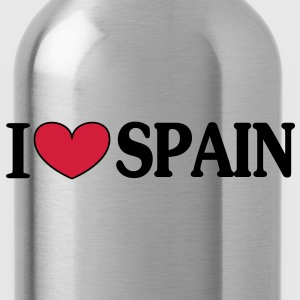 i love spain -  T-Shirts - Water Bottle