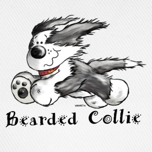 Bearded Collie  T-Shirts - Baseball Cap