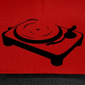 DJ Turntable stand  Magliette - Snapback Cap