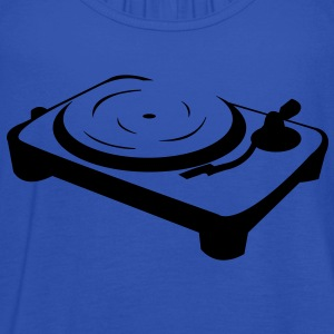 Turntable DJ booth  T-Shirts - Women's Tank Top by Bella