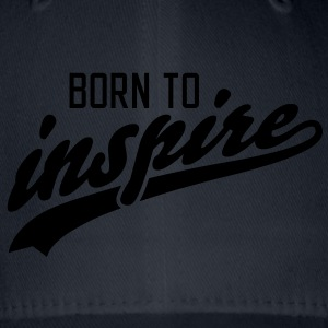 born to inspire T-Shirts - Flexfit basebollkeps