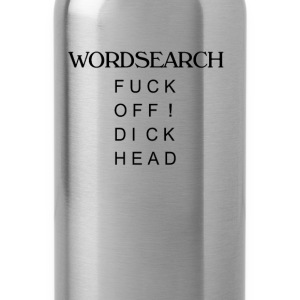 Word search T-Shirts - Water Bottle