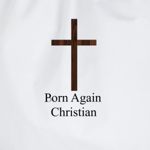 Porn Again Christian - Drawstring Bag