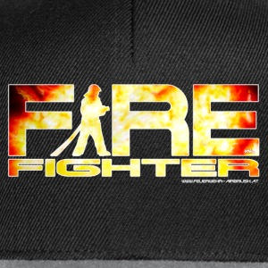 FIRE FIGHTER T-Shirt - Snapback Cap