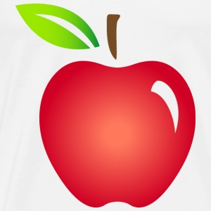 Apple Fruit (dd)++ Sweaters - Mannen Premium T-shirt