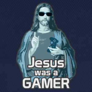 Jesus was a gamer - Basebollkeps