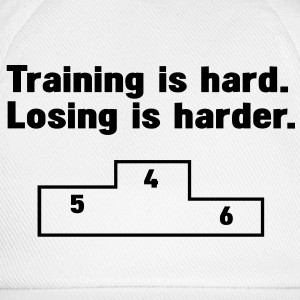 Training vs losing Felpe - Cappello con visiera