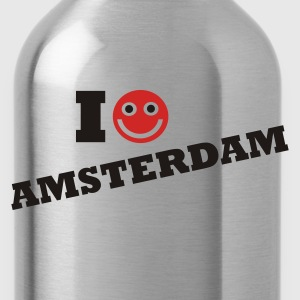 Navy i love amsterdam Sweaters - Drinkfles