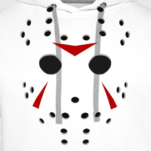 Jason Killer Hockey Mask - Men's Premium Hoodie