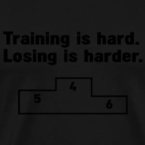 Training vs losing Sweaters - Mannen Premium T-shirt