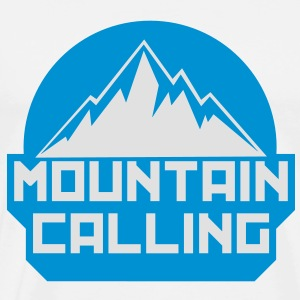 MOUNTAIN CALLING - Men's Premium T-Shirt