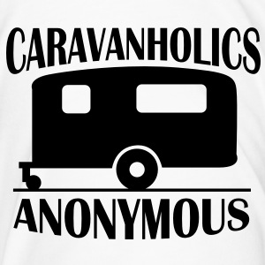 Caravanholics Anonymous Bottles & Mugs - Men's Premium T-Shirt