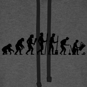 Evolution besoin d'une pause! Sacs - Sweat-shirt baseball unisexe