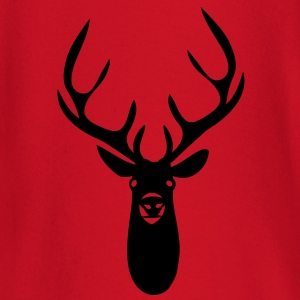 stag antler head - Baby Long Sleeve T-Shirt