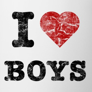 i love boys vintage dark Sweaters - Mok