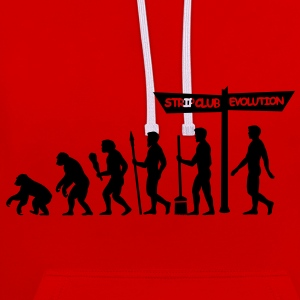 Evolution - Stag Night Bags  - Contrast Colour Hoodie