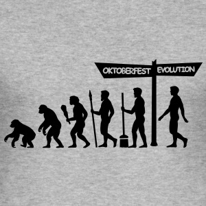 Evolution baglæns Oktoberfest  Sweatshirts - Herre Slim Fit T-Shirt