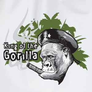 king of gorilla - Sac de sport léger
