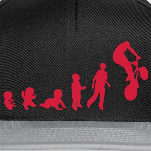 evolution freestyle1 bmx cross bike velo Tee shirts Enfants - Casquette snapback