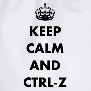 Keep calm and ctrl-z - Sac de sport léger