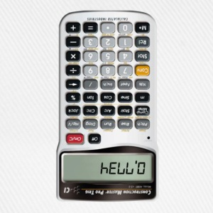 Hello calculator - Baseballkasket