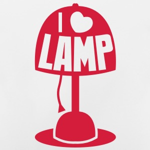 I LOVE LAMP with light and cord Hoodies - Baby T-Shirt