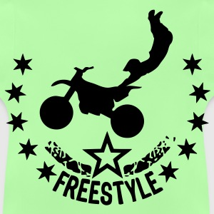 motocross freestyle motorcycle54 etoile Sweats Enfants - T-shirt Bébé