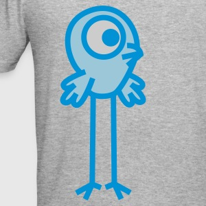 Long-Legged Cartoon  Bird by Cheerful Madness!! Hoodies & Sweatshirts - Men's Slim Fit T-Shirt