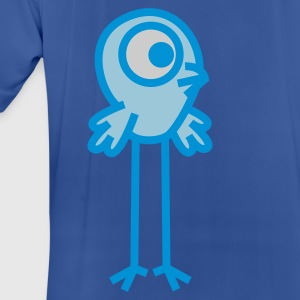Long-Legged Cartoon  Bird by Cheerful Madness!! Hoodies & Sweatshirts - Men's Breathable T-Shirt